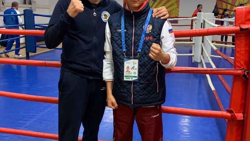 Боксер из Бузулука Артем Тамразян стал серебряным призером Игр стран СНГ