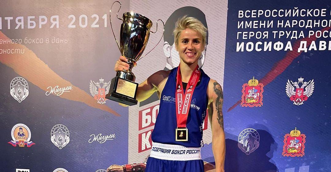 Оренбурженка Екатерина Сычева стала победительницей всероссийского турнира по боксу