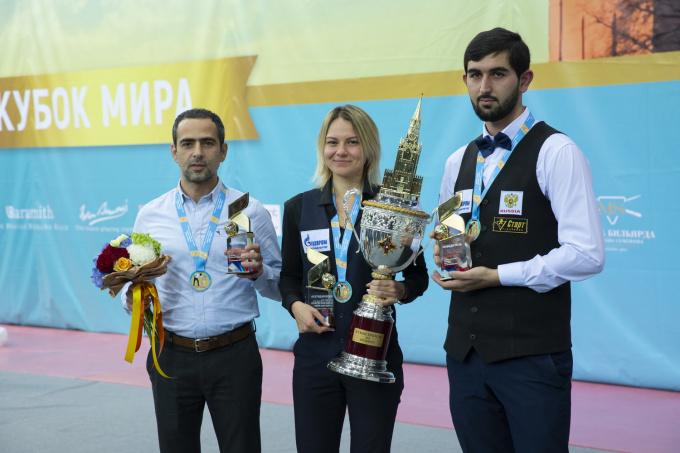 Диана Миронова выиграла Кубок Кремля по бильярдному спорту