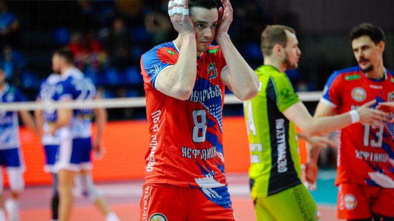 «Нефтяник» проиграл «Факелу» в Кубке России, ведя 2:0 по сетам