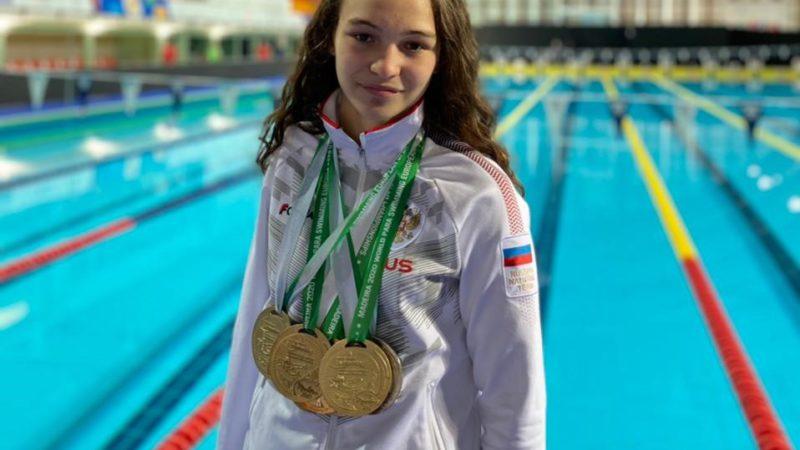 Виктория Ищиулова с первым результатом вышла в финал Паралимпиады на дистанции 50 метров вольным стилем