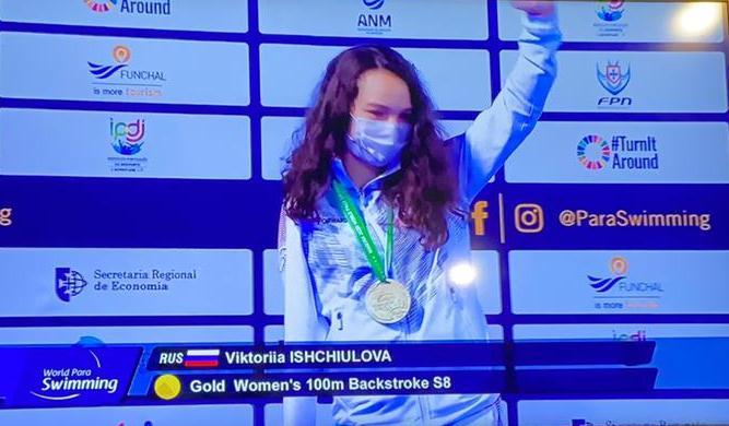 Владимир Путин поздравил Викторию Ищиулову с победой на Паралимпиаде