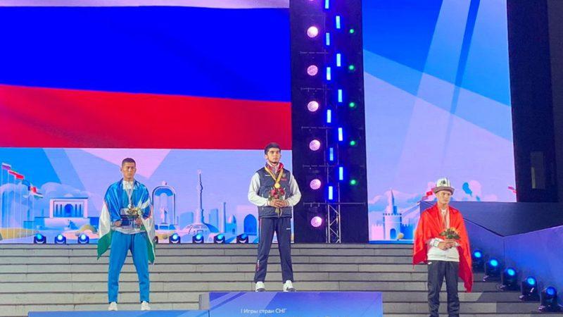 Бугурусланский борец Рафаэль Бильданов стал победителем Игр стран СНГ
