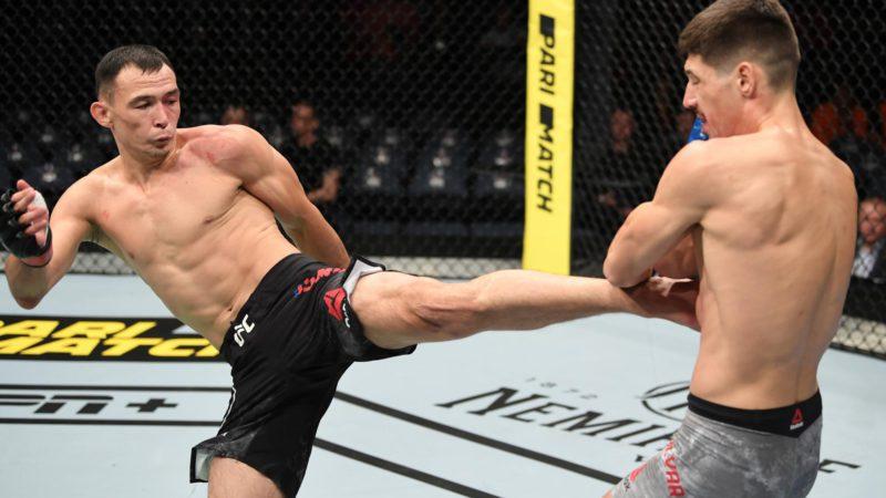 Стала известна дата следующего боя Дамира Исмагулова в UFC
