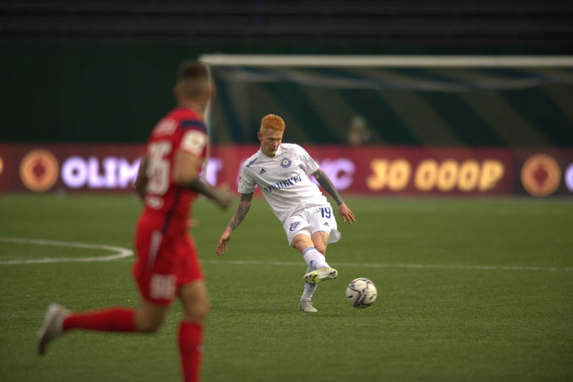 Голы Фамейе и Ковалева помогли «Оренбургу» обыграть «Енисей»