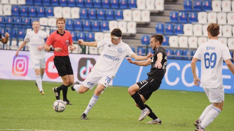 «Оренбург-2» и «Тюмень» забили 10 голов на двоих