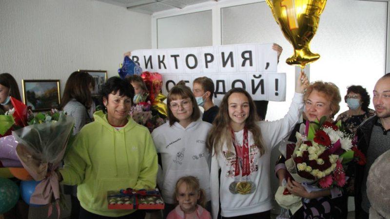 Паралимпийская чемпионка Виктория Ищиулова вернулась в Орск
