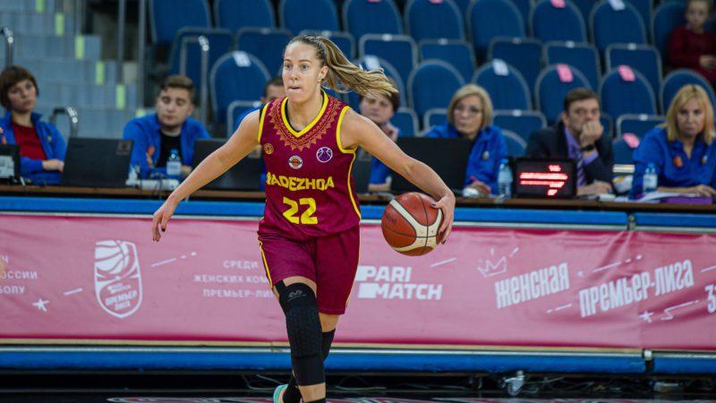 Защитник «Надежды» Елизавета Комарова вызвана в сборную России, Дарья Намок – в резерве