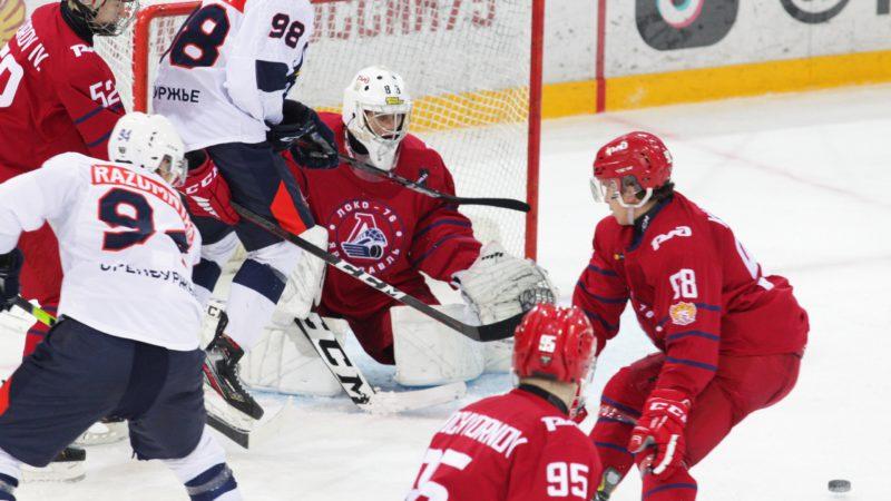 «Сарматы» дважды проиграли в Ярославле