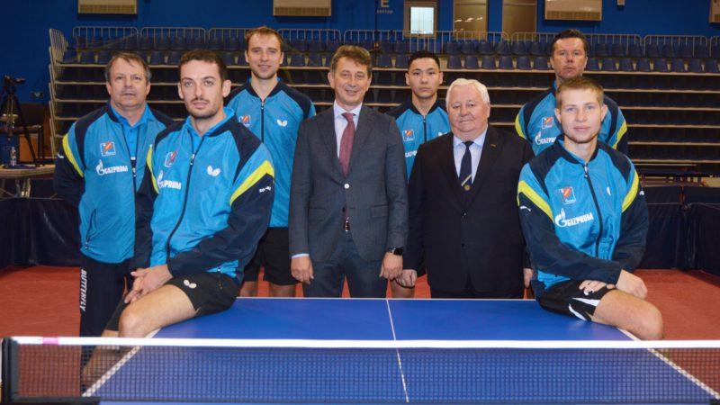 Оренбургскому клубу настольного тенниса «Факел-Газпром» исполнилось 20 лет