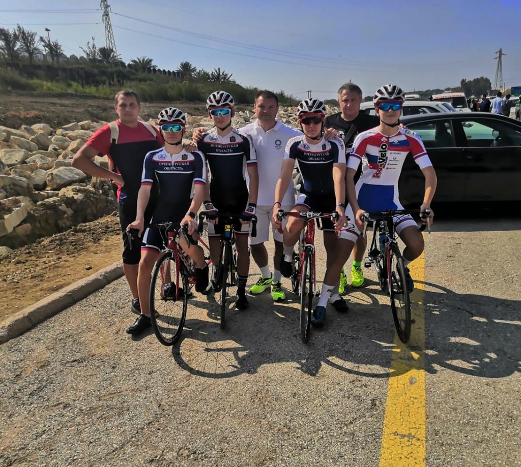 Оренбургские велогонщики уехали на соревнования в Сирию